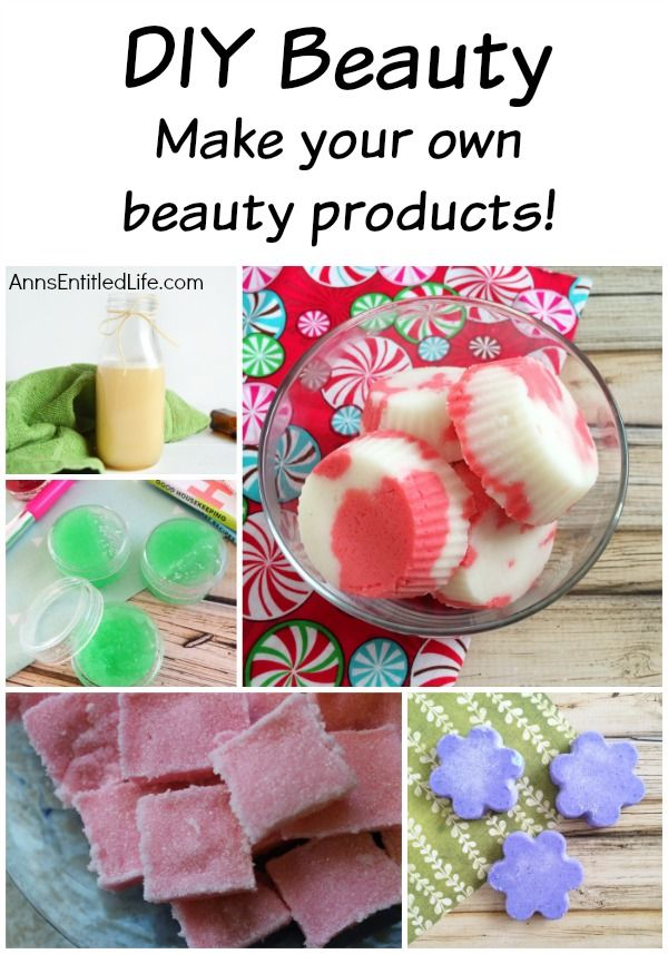 Make your own cosmetics at home