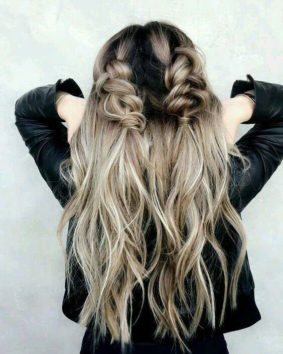 31 Best Trendy and Beautiful Twisted Rope Braid Blonde Hairstyle for Long Hair 💖 – Page 2 of 32