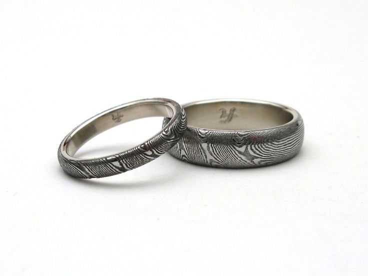 25 best JArthur Loose Stainless Damascus Rings images on Pinterest