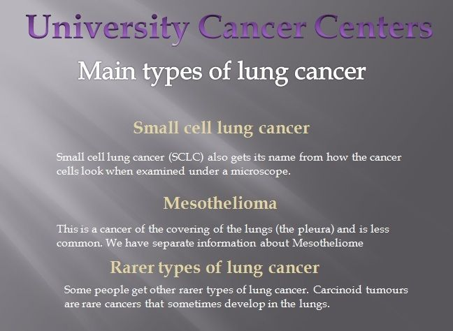 the causes major types and treatment of lung cancer Lung cancer is one of the major cancer types for which new immune-based cancer treatments are currently in development  lung cancer is the most common cause of.