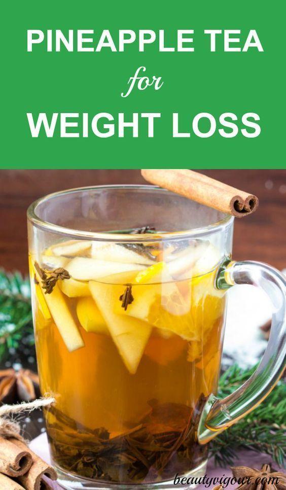 Pineapple Tea For Weight Loss #Weightlossmanagement
