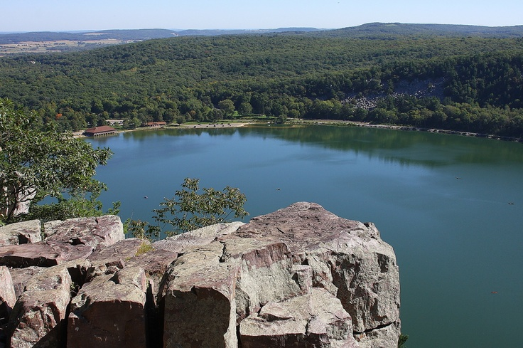 Devils Lake State Park, Wisconsin - - I can't tell you how many summers were spent here and how many wonderful memories.  Love this very special place.