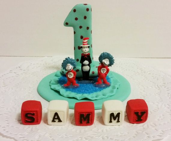 The Cat In The Hat Cake Topper