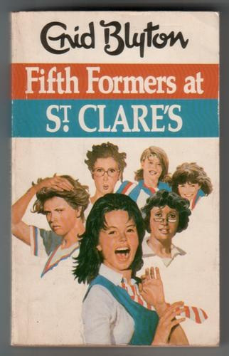 My Enid Blyton quest continues with St. Clare's.. I'll never forget these old book covers :)
