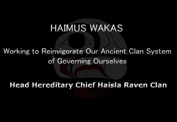 Press Release: Hereditary Chief of the Raven Clan Claims Rightful Sovereignty