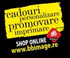 Shopul bbimage.ro oferă produse și materiale promoționale personalizate, servicii de design, identitate vizuală, ștampile, editură și tipărire cărți, print indoor și outdoor, design și imprimare mash-uri, roll-up-uri, afișe, broșuri, mape.