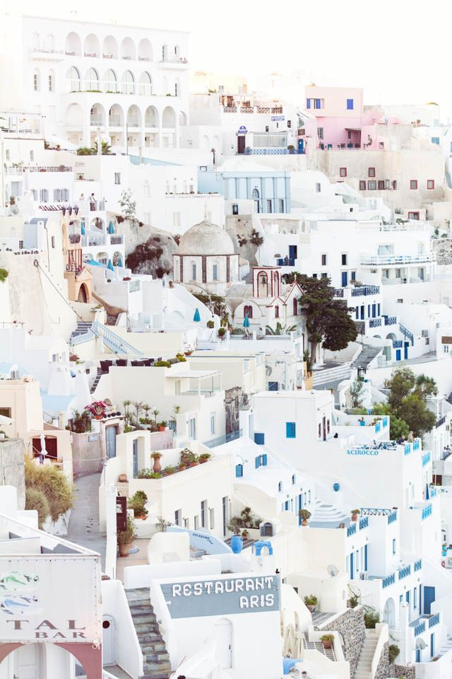 Fira, Santorini | Travel Photography | Annawithlove Photography