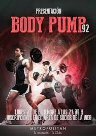 Training according to Chrille: Bodypump i Lördags - gick galet bra!