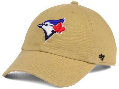 Toronto Blue Jays  47 MLB Khaki  47 CLEAN UP Cap  c2a39d91b7c9
