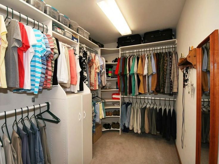 66 Best Walk In Closet Design Images On Pinterest  Walk In Fair Bedroom Design With Walk In Closet 2018