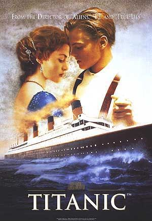 Titanic, 1997. The biggest movie of the 1990's, surely? This movie garnered much of it's profit from 14 year old girls who went to see Leo on the big screen an average of 20 times each.