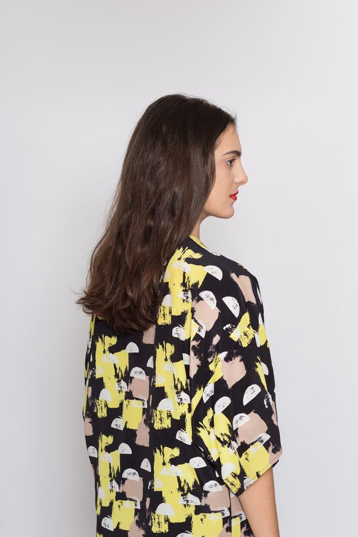 AH/OK Lunette - Silk Kimono