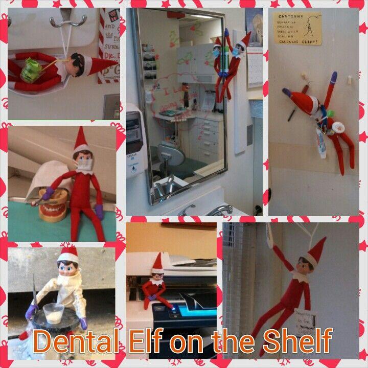 Elf on the Shelf invades Samuels Dental Center!!!
