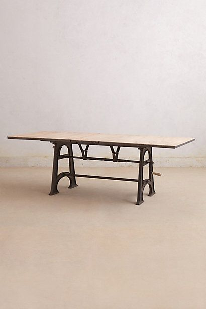 Flatiron Dining Table  #anthropologie