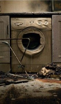 """[""""If Guardian would not have called, I don't know where we would be. The repairman said the washer was safe and was supposed to have fixed it. I was upstairs after loading the laundry into it""""....]"""