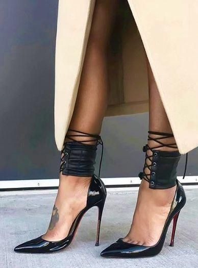 The Ankle Corset | Christian Louboutin