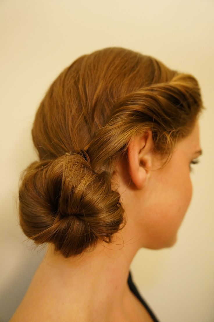 Easy updo for everyday use, but fancy enough for going out! Great how to directions!