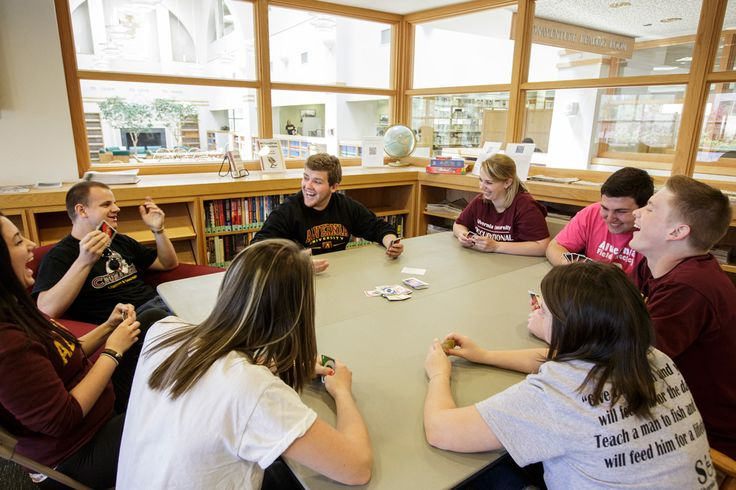 Large common areas around #Alvernia's campus makes it easy to gather with friends to study or just hang out and have fun!