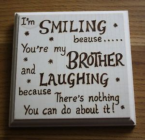 Wedding Gift Ideas For Sister From Brother : com/itm/Brother-or-Sister-Poem ...: Gift Ideaa, Holiday Ideas, Brother ...