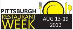 Pittsburgh Restaurant Week Summer 2012 with Dates
