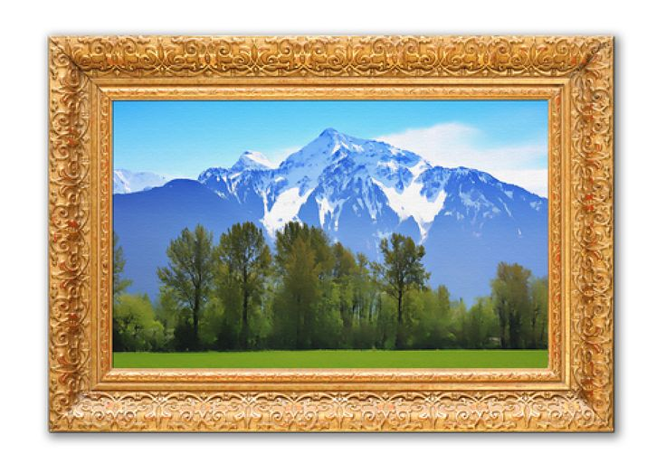 """""""Wealth Art"""" is well-painted art that either contains auspicious objects or mountains of a certain shape and orientation. If the mountain is seen from the back it should be turtle-shaped; if seen from the front it should be wavy-ridged. You can also hang pictures of special Taoist deities who are believed to bring good fortune into the home. Always keep balance in mind and don't overdo this recommendation!"""