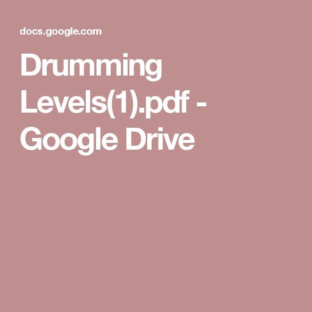 Drumming Levels(1).pdf - Google Drive