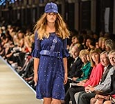 #CharmaineReveley on the #iDFW 2013 catwalk. Love those hats!
