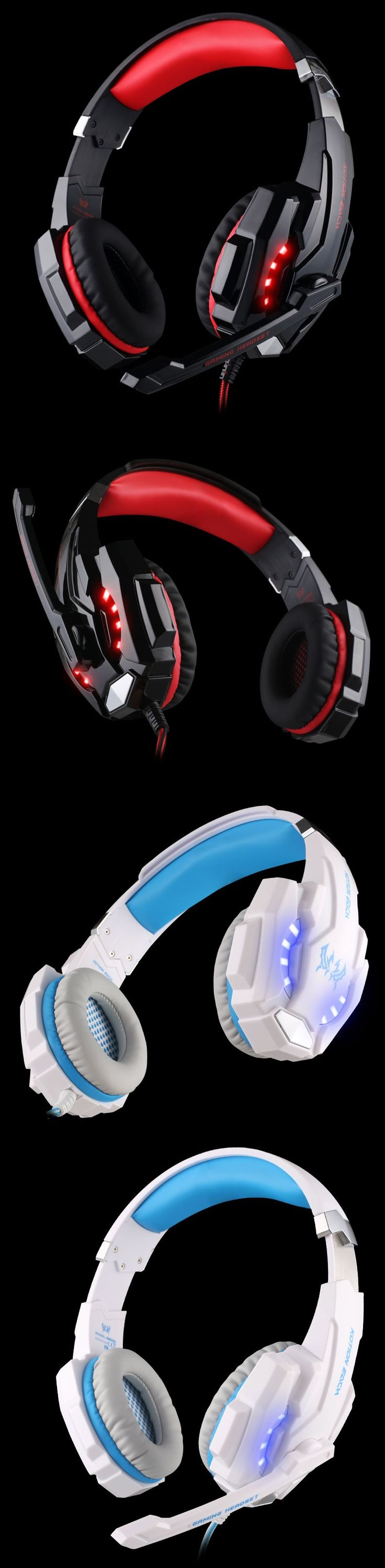 KOTION EACH G9000 USB 7.1 Surround Sound Version Game Gaming PC Headphone Computer Headset Earphone Headband With Microphone | #HeadphonesGaming