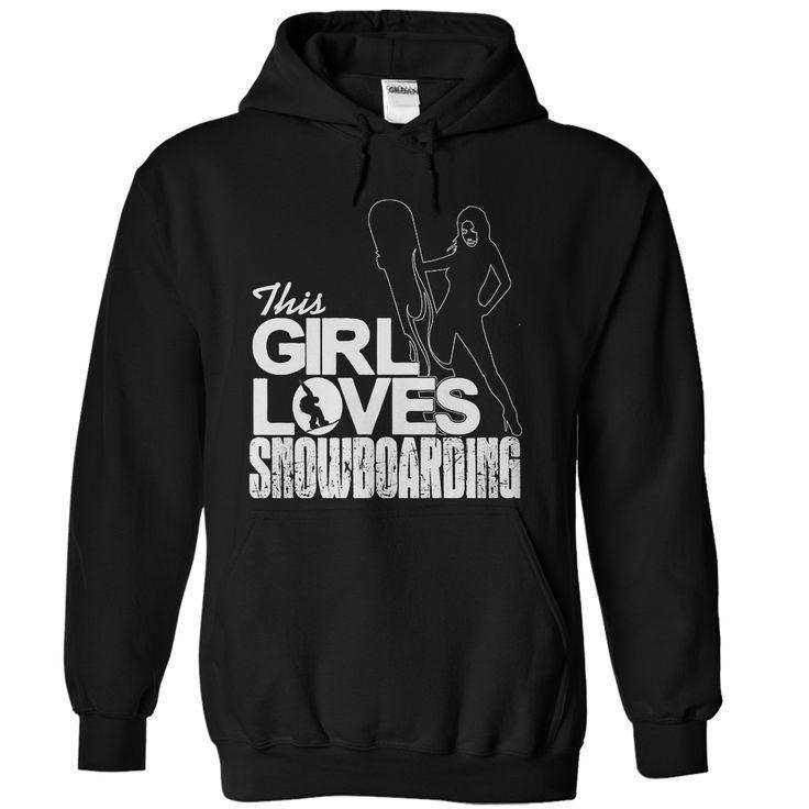 This Girl Loves Snowboarding T-Shirt