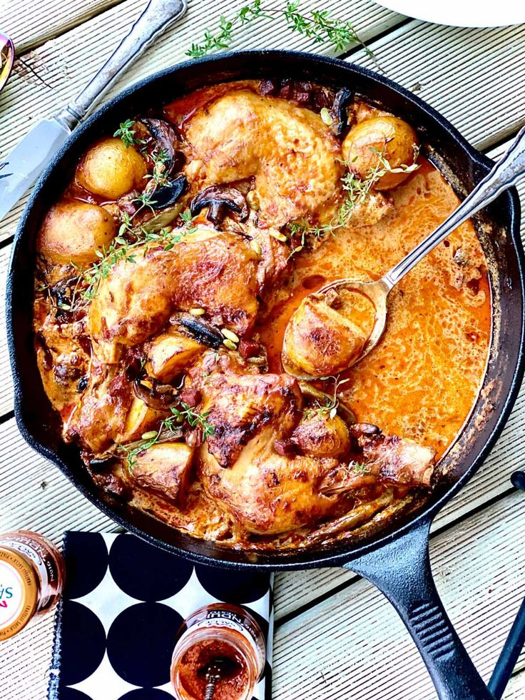 Jul 10, 2020 – This one-pot chicken chorizo and nduja meal is a winter winner, the perfect family dish that everyone wil…