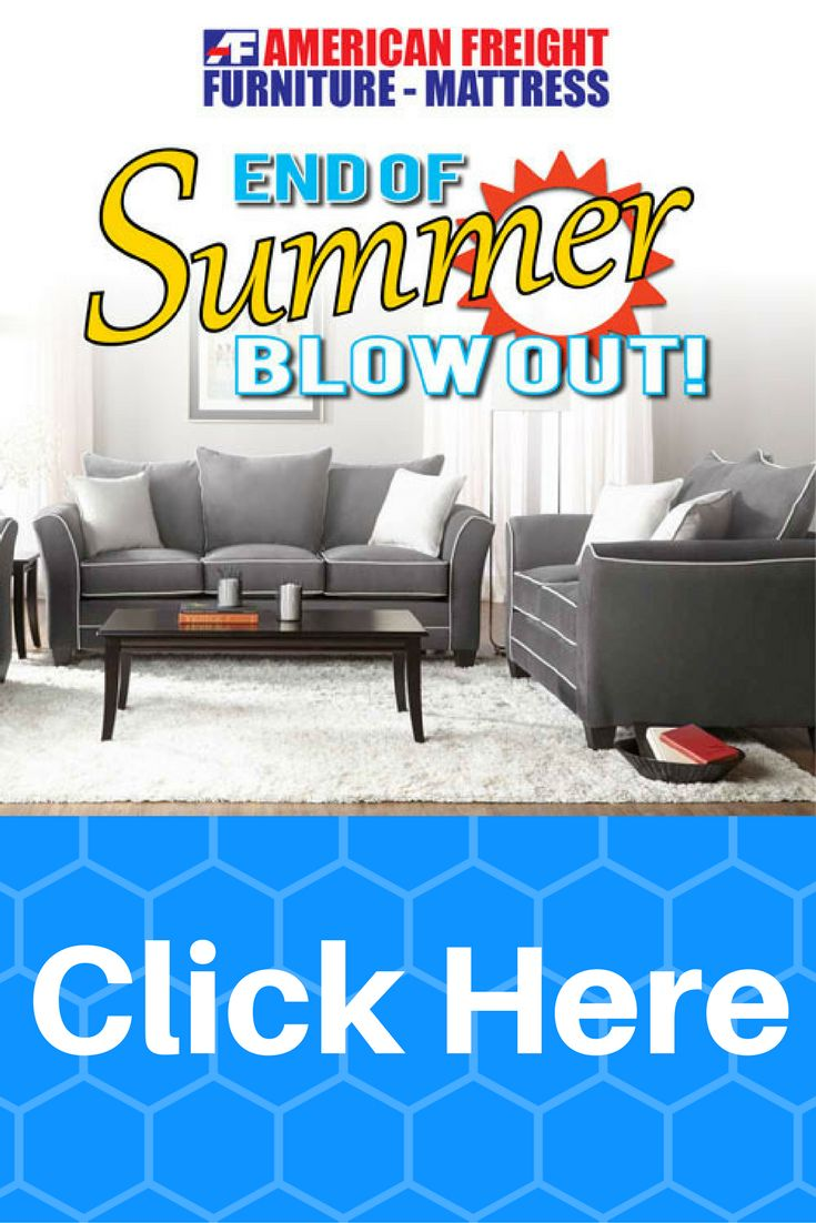 ... American Freight Furniture and Mattress! End-of-summer savings are  here! We've got deals for your