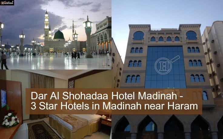 Book your accommodation on the 3 star hotels in madinah Near Haram at Dar Al Shohadaa Hotel Madinah  Dar Al Shohadaa Hotel is Located in Sayed Al Shohadaa street - Al Madinah Al Monawara AL MASANI, Madina, Saudi Arabia. This Hotel is #3starhotelsinmadina and also #HotelsNearHaram. click http://goo.gl/Q7BQIv  #CheaphotelsinmadinahnearHaram #Travel #Hospitality