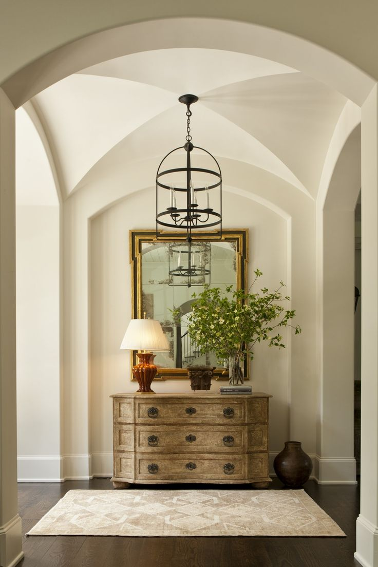 EnglishStyle Manor House  Foyer  Design Detail  Transitional by Harrison Design