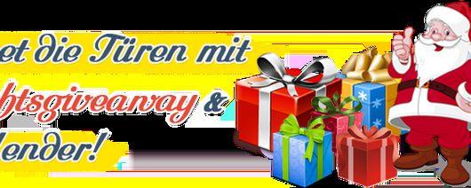 Weihnachtsgiveaway und -kalender Es ist wieder soweit!!! http://www.geschenkparty.com/?af=165