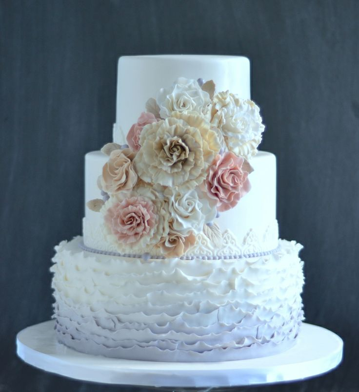 shabby chic bridal shower cakes%0A Divine Wedding Cakes For Your Big Day  City Girl Cakes