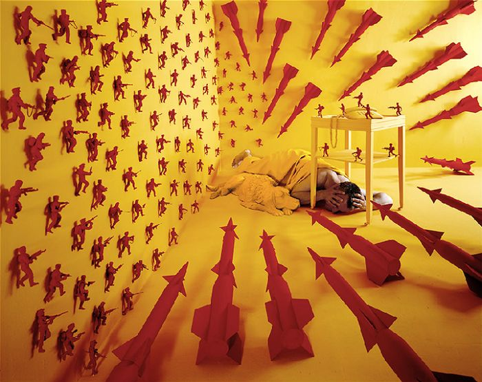 Best Sandy Skoglund Ideas On Pinterest Gold Proce Art - Artist creates amazing fantasy dreamscapes into her small studio without using photoshop