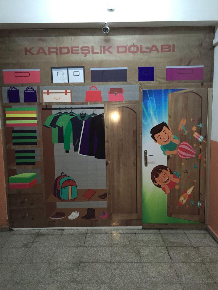 Kapı giydirme okul kapısı giydirme kapı kaplama sınıf kapısı kaplama