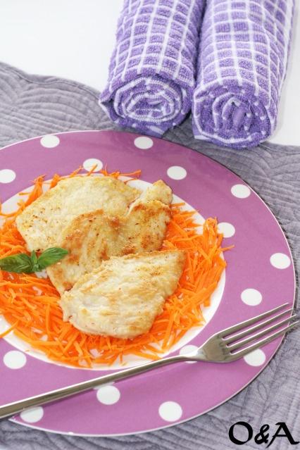 Ricetta scaloppine di pollo all'arancia