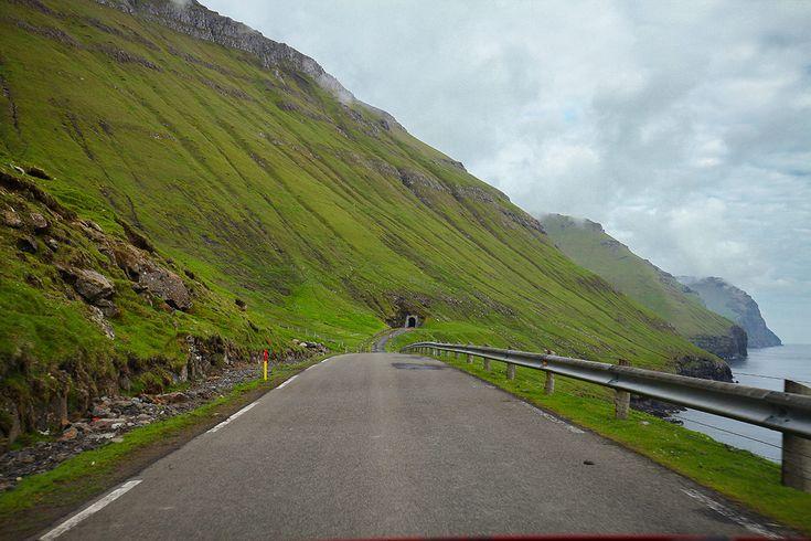 Akékoľvek Faerské ostrovy trasa bude vyžadovať trochu jazde na jedno cesty cesty!