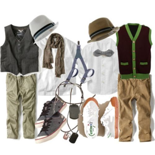 Sophisticated wear for the little man in your life. <3