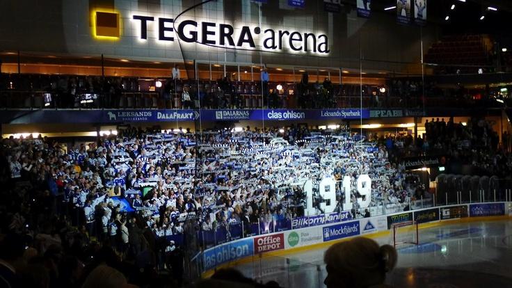 Leksand, Sweden, Tegera Arena, September 2012