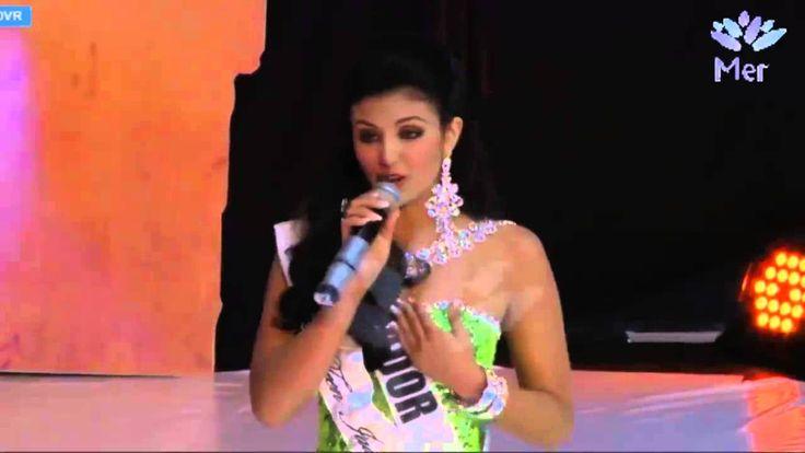 Miss Teen Universe 2015, Dayanara Peralta, ECUADOR - Pregunta y respuesta