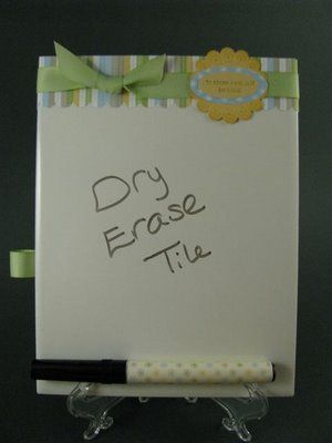 Dry Erase Boards Made From Tiles