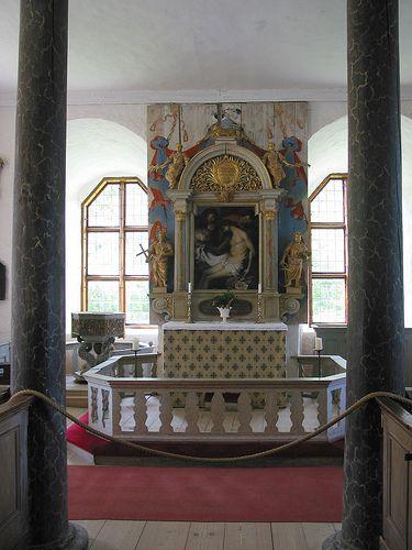 Torpa Stenhuset, Sweden. private chapel by digicanon, via Flickr