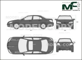 Acura RL (2005) - drawing