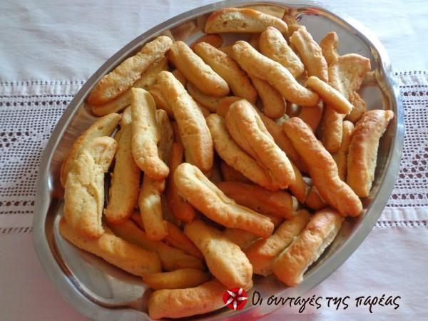 Olive oil rusks from Kythira #cooklikegreeks #oliveoilrusks