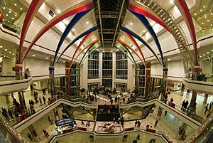 #istanbul Cevahir Shopping and Entertaining Centre, largest shopping mall in the city centre