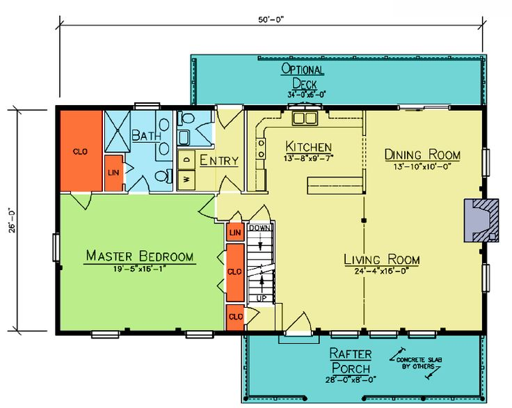 61 best Floor plans images on Pinterest | Small house plans, House ...