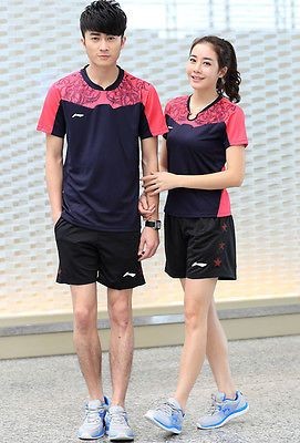 #Fashion #men's badminton #table tennis sportsweartracksuits suit t-shirt+short n,  View more on the LINK: 	http://www.zeppy.io/product/gb/2/262492359521/