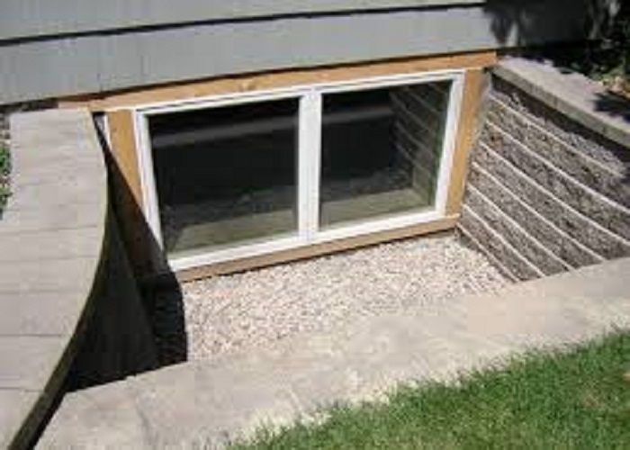 Egress window kits projects pinterest basement for Does a walkout basement cost more